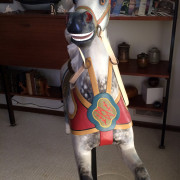 1890s-Dare-carousel-horse-restored-head-on
