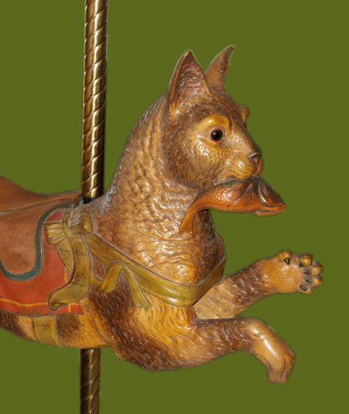 Dentzel-carousel-cat-bust
