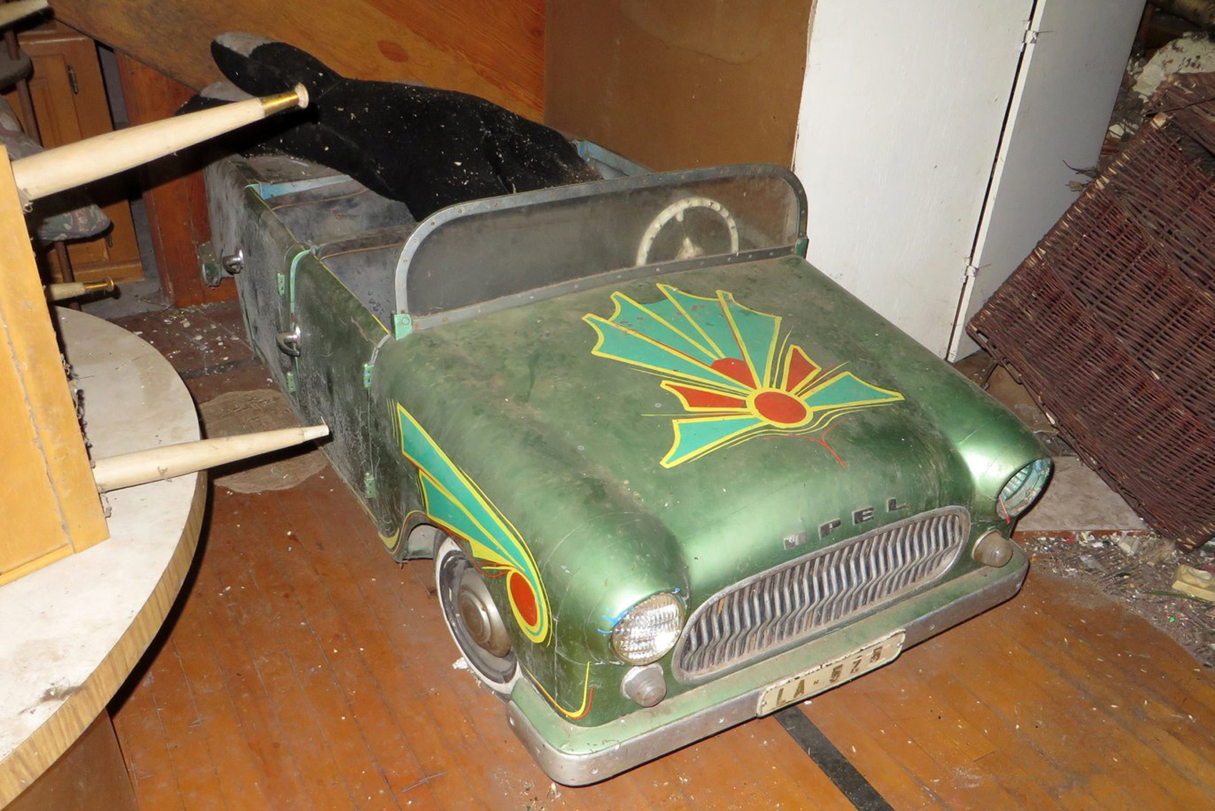 Auto Carousel From Big Tex Sold Antiquecarousels Com