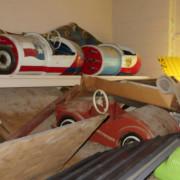 Vintage-Hennecke-German-auto-carousel-cars-planes