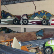 Vintage-Hennecke-German-auto-carousel-rounding-boards