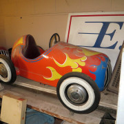 ca-1950s-Hennecke-German-auto-carousel-Indy-car