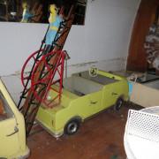 ca-1950s-Hennecke-German-auto-carousel-fireman-ladder