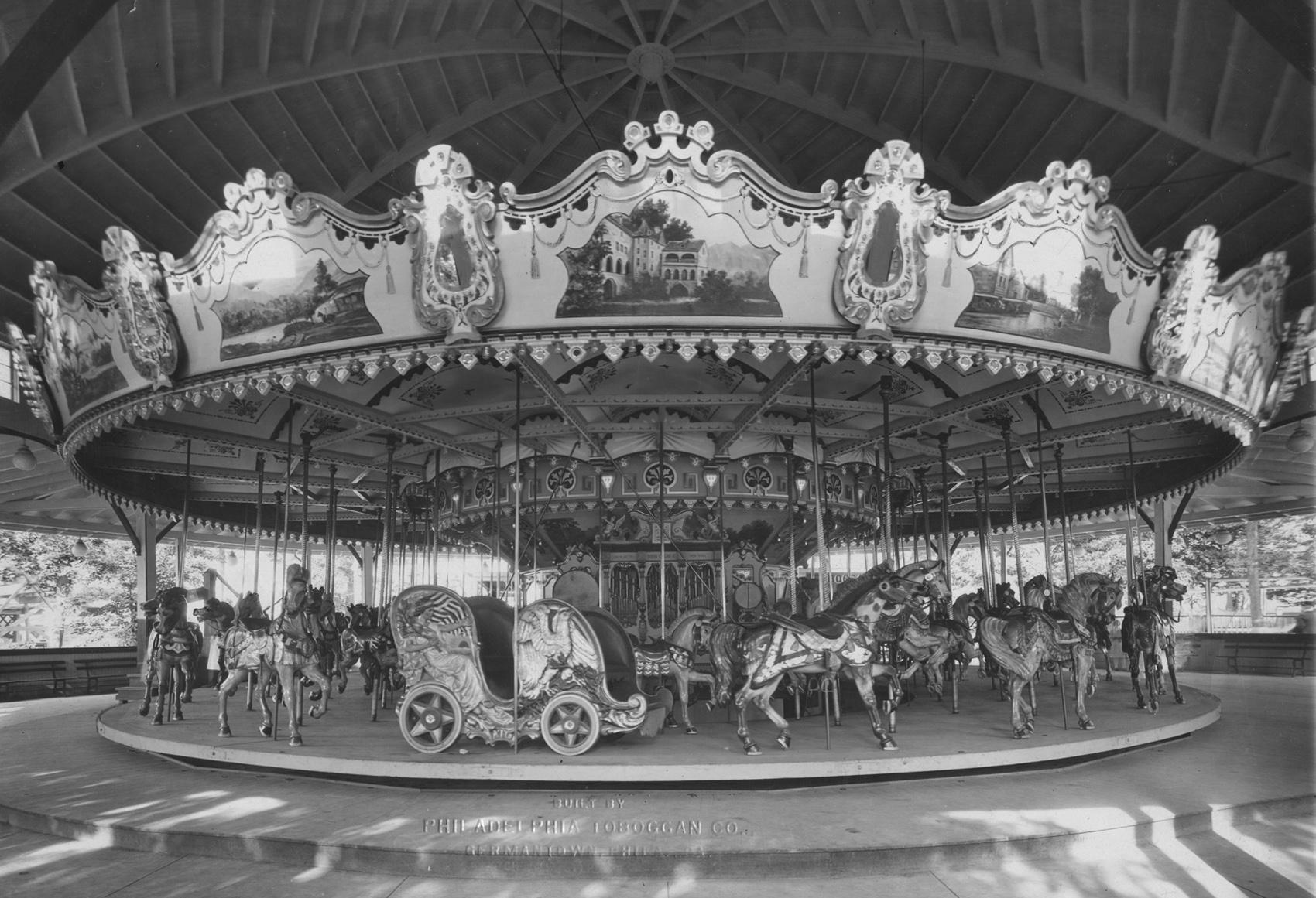 PTC #53 – Rare 1920 Grand Carousel   AntiqueCarousels.com