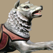 rare-ca-1906-PTC-carousel-wolf-bust