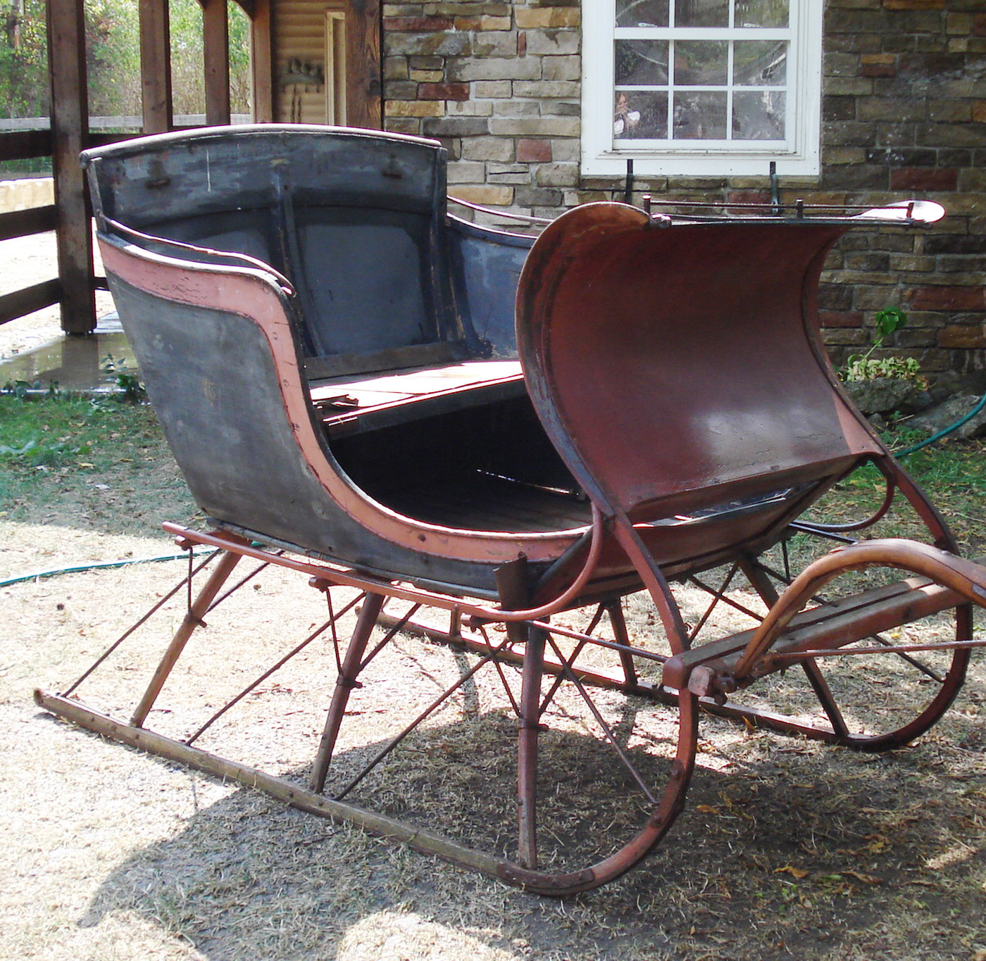 Antique L C Graves Sleigh Sold